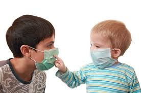 Deti, v maskah